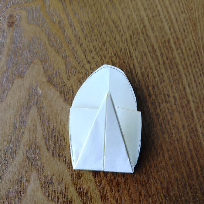 菜の花の折り紙 切り方作り方 (11)