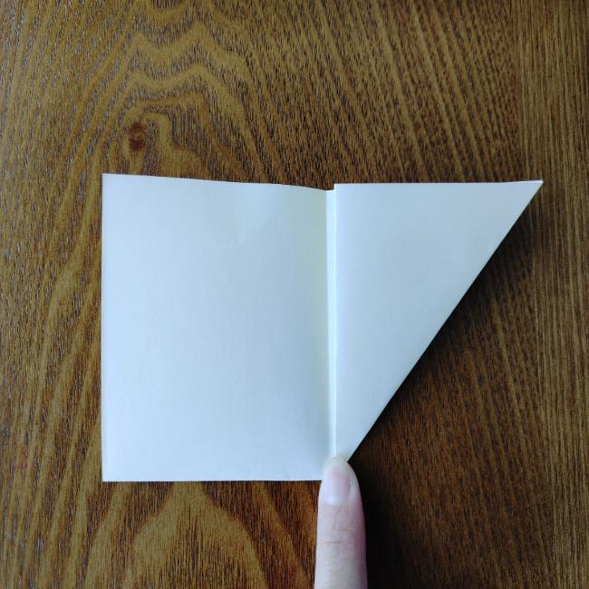 菜の花の折り紙 切り方作り方 (5)