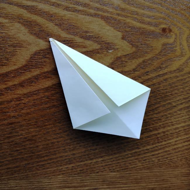菜の花の折り紙 切り方作り方 (9)