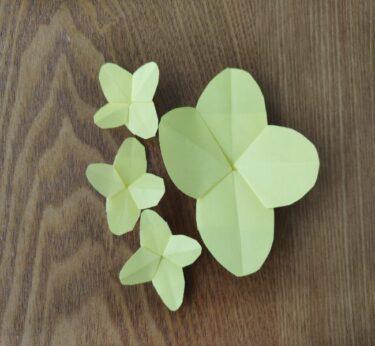 菜の花の折り紙は幼児でも簡単にできる!かわいい春の花