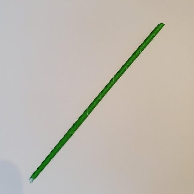 菜の花の折り紙 茎の作り方・折り方 (7)