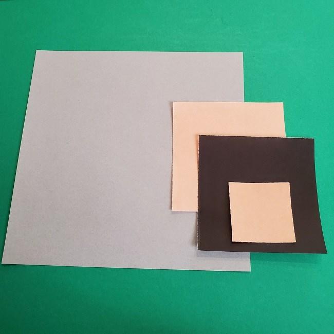 鬼滅の刃さねみの折り紙*用意するもの (1)
