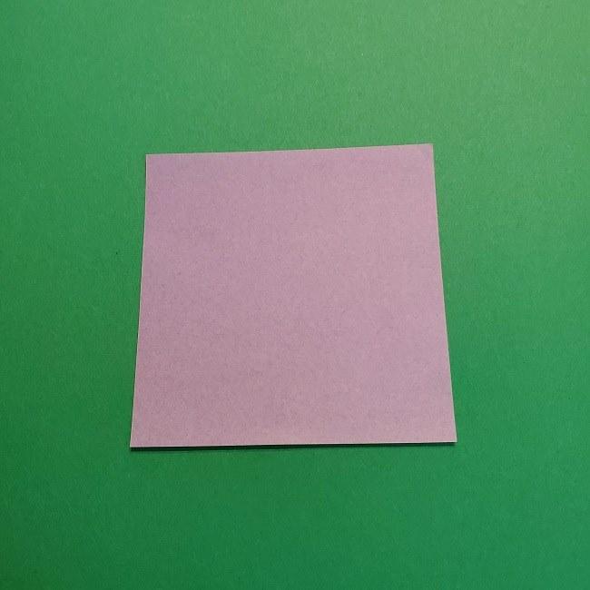 鬼滅の刃の折り紙 げんや(不死川玄弥)の折り方作り方③羽織 (1)