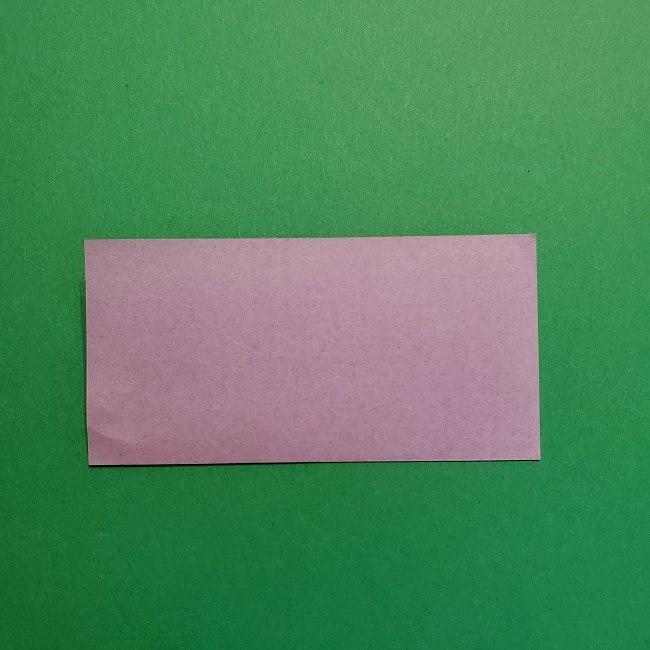 鬼滅の刃の折り紙 げんや(不死川玄弥)の折り方作り方③羽織 (2)