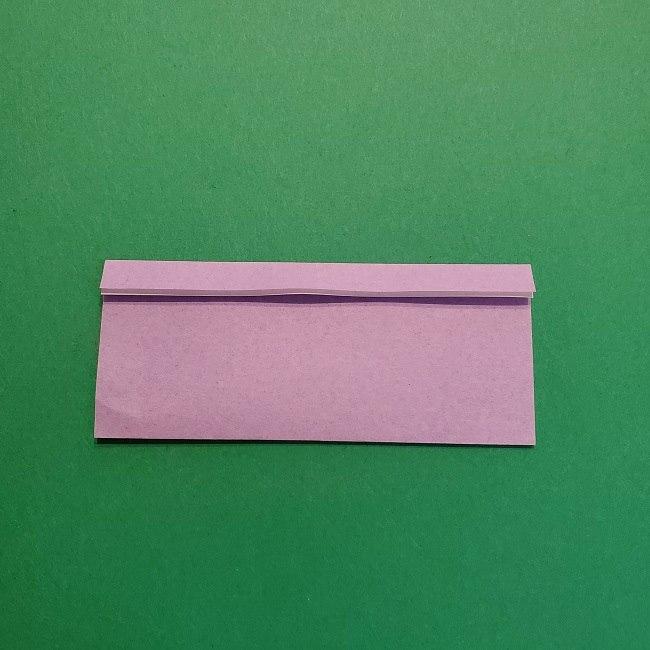 鬼滅の刃の折り紙 げんや(不死川玄弥)の折り方作り方③羽織 (3)