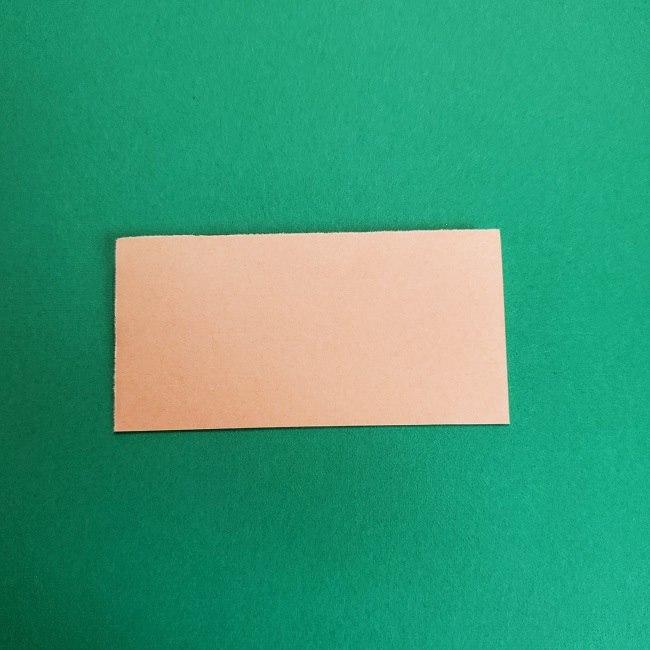 鬼滅の刃の折り紙 げんや(不死川玄弥)の折り方作り方1顔 (2)