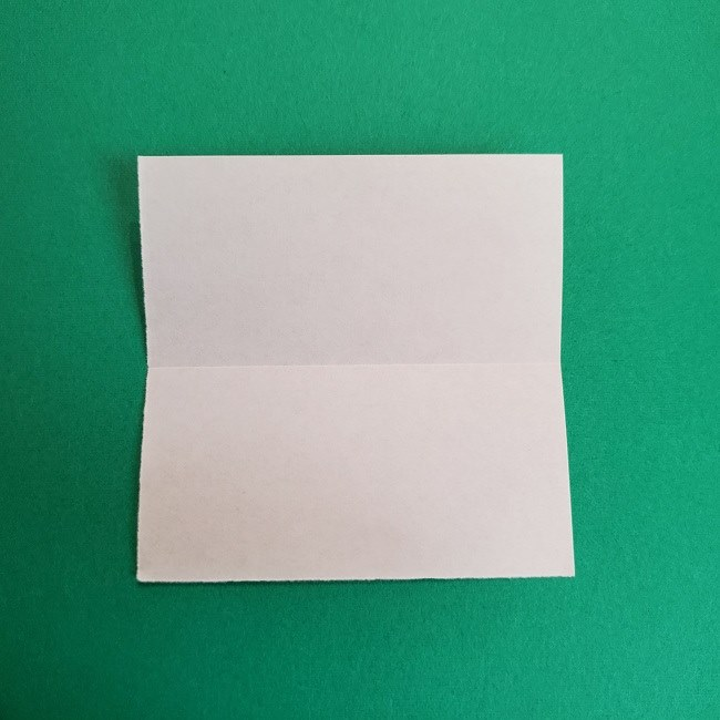 鬼滅の刃の折り紙 げんや(不死川玄弥)の折り方作り方1顔 (3)
