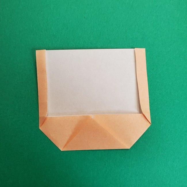 鬼滅の刃の折り紙 げんや(不死川玄弥)の折り方作り方1顔 (6)