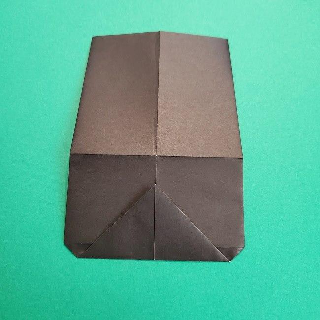 鬼滅の刃の折り紙 げんや(不死川玄弥)の折り方作り方2髪 (11)