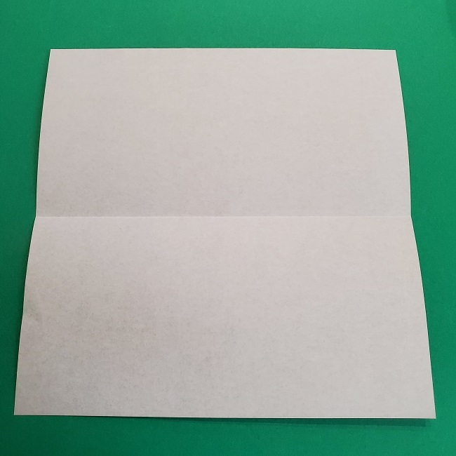 鬼滅の刃の折り紙 げんや(不死川玄弥)の折り方作り方2髪 (3)