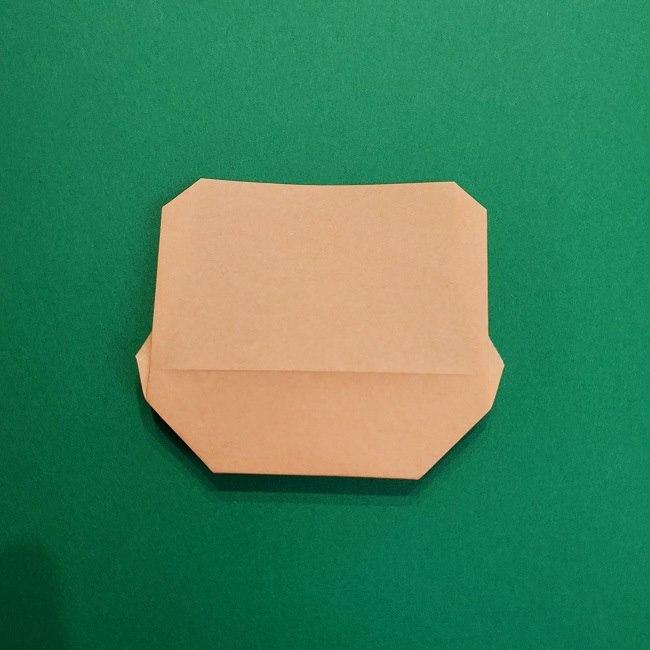 鬼滅の刃の折り紙 げんや(不死川玄弥)の折り方作り方4完成 (2)