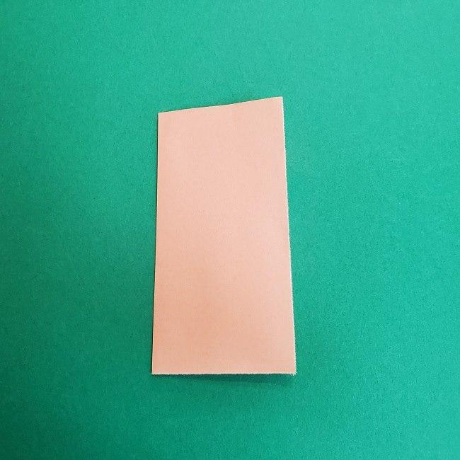 鬼滅の刃の折り紙 さねみ(不死川実弥)の折り方作り方1顔 (2)