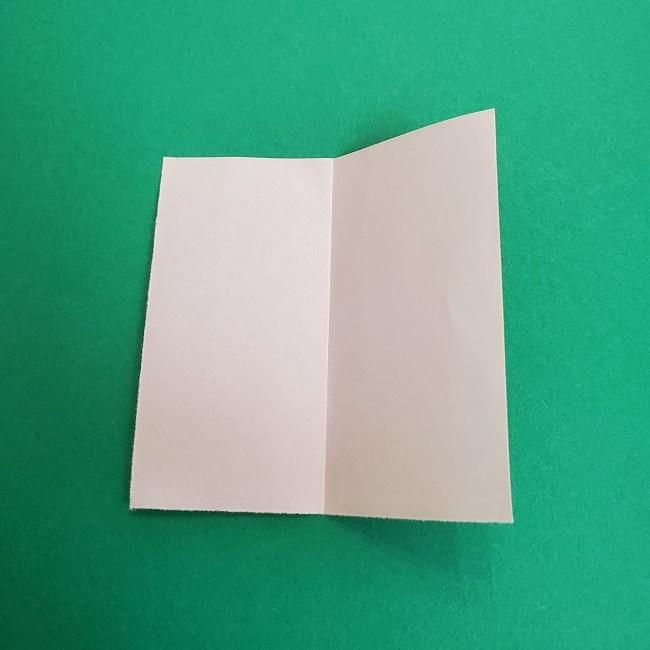 鬼滅の刃の折り紙 さねみ(不死川実弥)の折り方作り方1顔 (3)