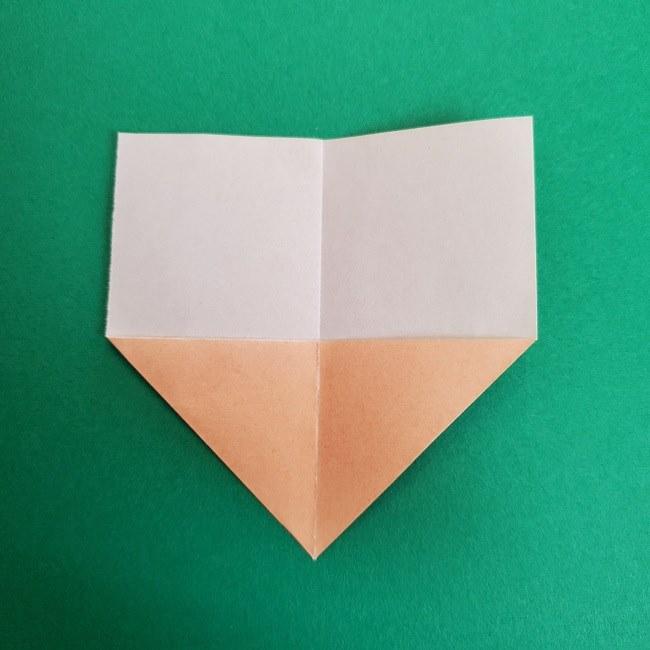 鬼滅の刃の折り紙 さねみ(不死川実弥)の折り方作り方1顔 (4)