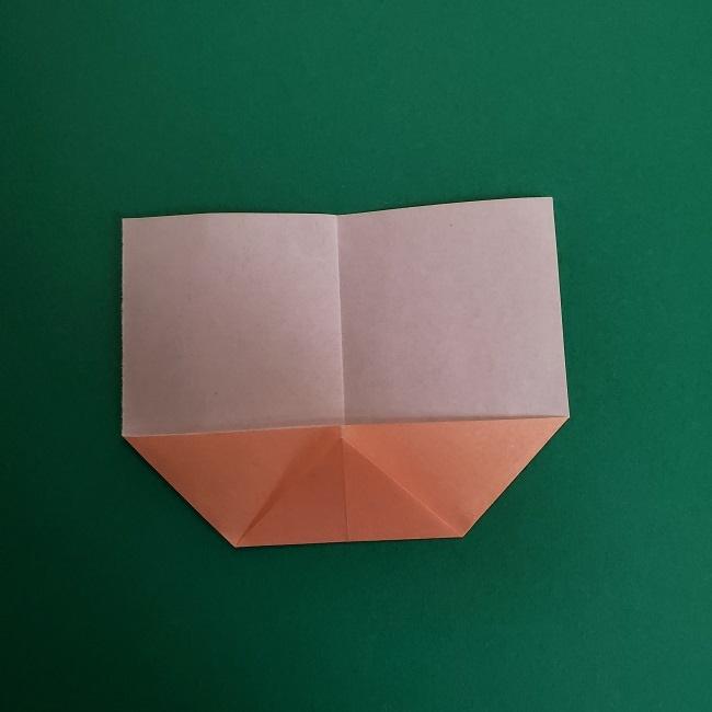 鬼滅の刃の折り紙 さねみ(不死川実弥)の折り方作り方1顔 (5)