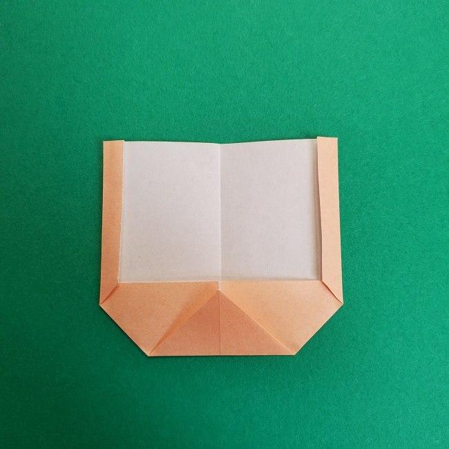 鬼滅の刃の折り紙 さねみ(不死川実弥)の折り方作り方1顔 (6)