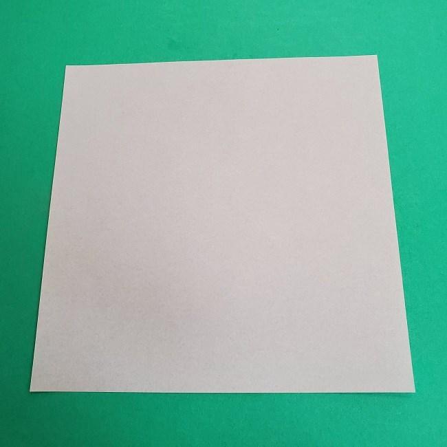 鬼滅の刃の折り紙 さねみ(不死川実弥)の折り方作り方2髪 (1)