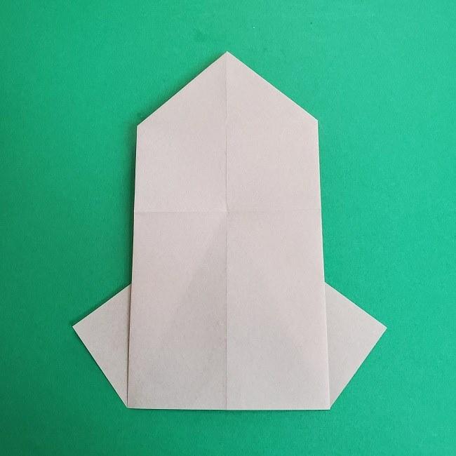 鬼滅の刃の折り紙 さねみ(不死川実弥)の折り方作り方2髪 (12)