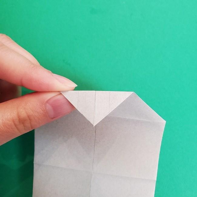 鬼滅の刃の折り紙 さねみ(不死川実弥)の折り方作り方2髪 (14)
