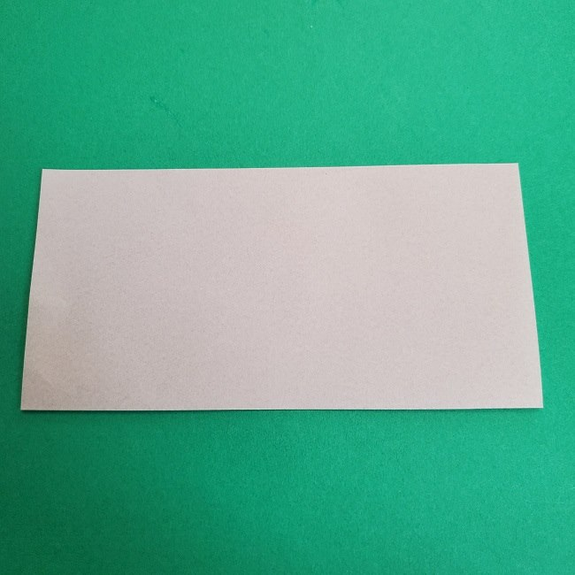 鬼滅の刃の折り紙 さねみ(不死川実弥)の折り方作り方2髪 (2)