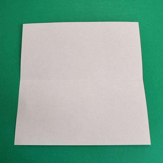 鬼滅の刃の折り紙 さねみ(不死川実弥)の折り方作り方2髪 (3)