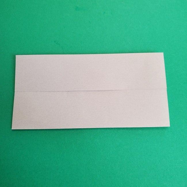 鬼滅の刃の折り紙 さねみ(不死川実弥)の折り方作り方2髪 (4)