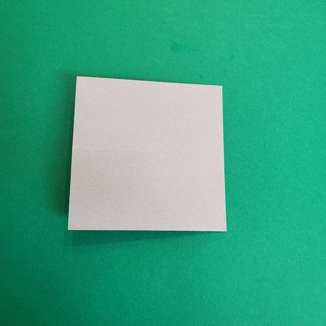 鬼滅の刃の折り紙 さねみ(不死川実弥)の折り方作り方2髪 (5)