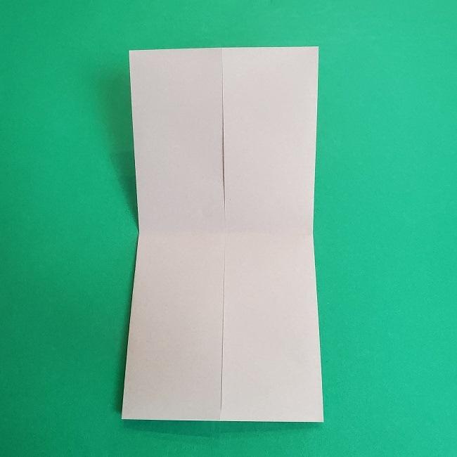 鬼滅の刃の折り紙 さねみ(不死川実弥)の折り方作り方2髪 (6)