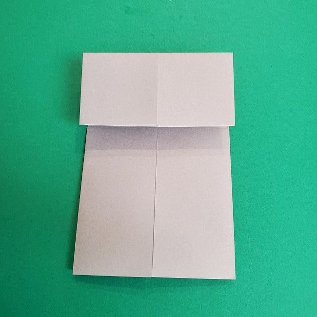 鬼滅の刃の折り紙 さねみ(不死川実弥)の折り方作り方2髪 (7)