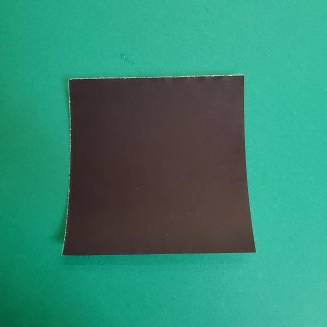 鬼滅の刃の折り紙 さねみ(不死川実弥)の折り方作り方3隊服 (1)