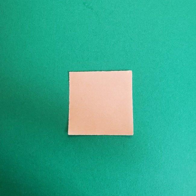 鬼滅の刃の折り紙 さねみ(不死川実弥)の折り方作り方4胸元 (1)