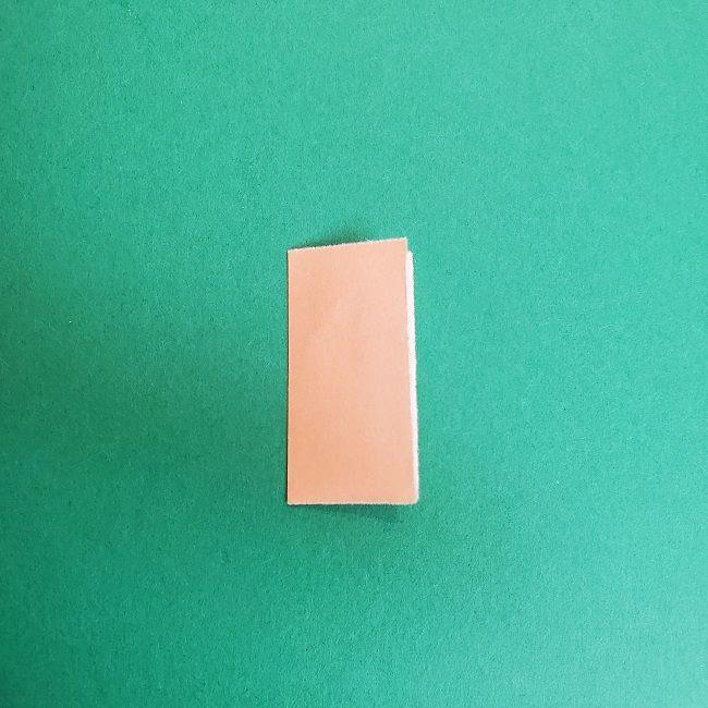 鬼滅の刃の折り紙 さねみ(不死川実弥)の折り方作り方4胸元 (2)