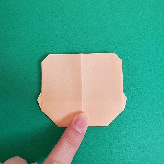 鬼滅の刃の折り紙 さねみ(不死川実弥)の折り方作り方5完成 (1)
