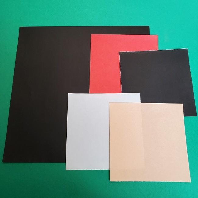 鬼滅の刃の折り紙 真菰*用意する折り紙 (1)