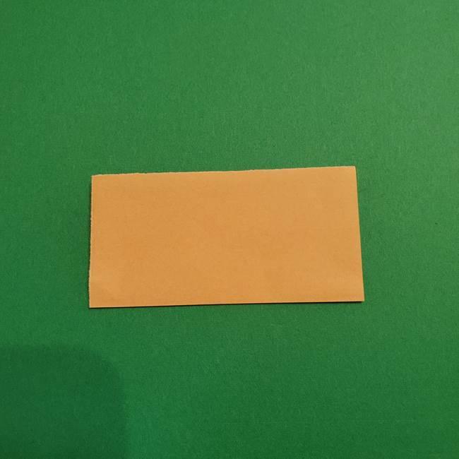 鬼滅の刃 折り紙のはなこの折り方作り方1(2)