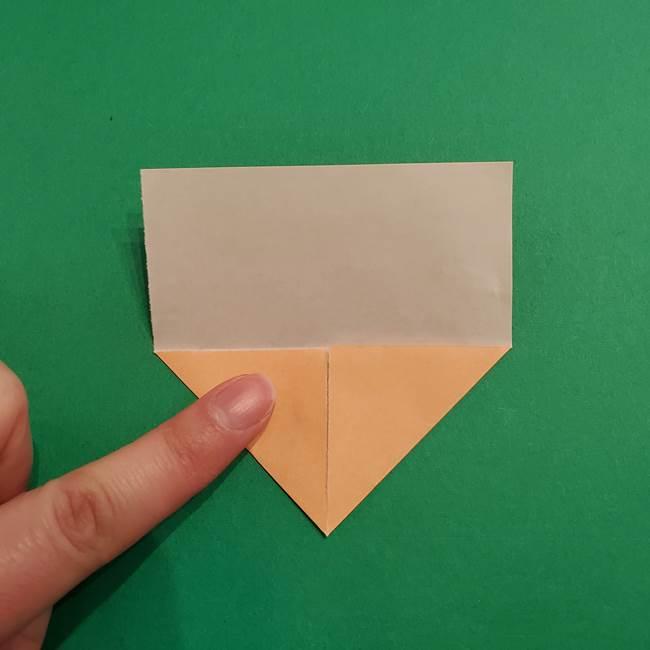 鬼滅の刃 折り紙のはなこの折り方作り方1(4)