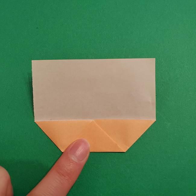鬼滅の刃 折り紙のはなこの折り方作り方1(5)