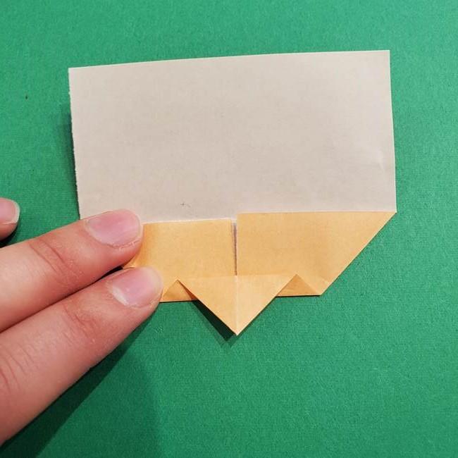 鬼滅の刃 折り紙のはなこの折り方作り方1(6)