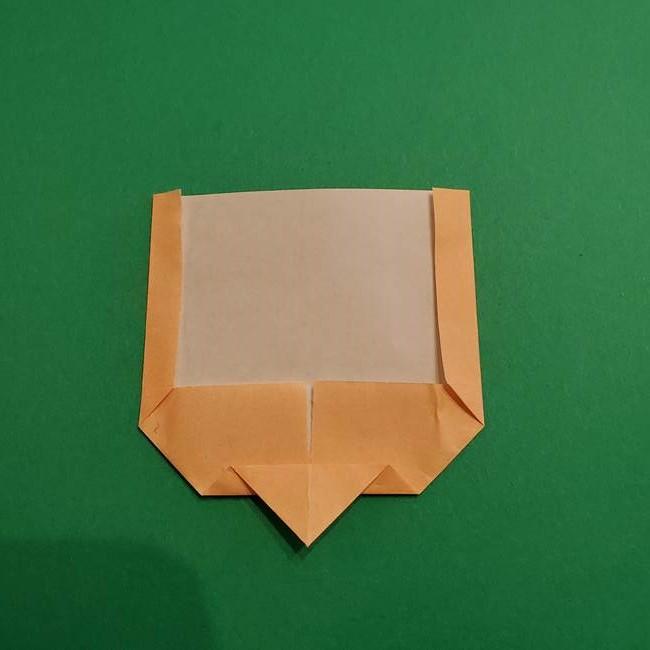 鬼滅の刃 折り紙のはなこの折り方作り方1(7)