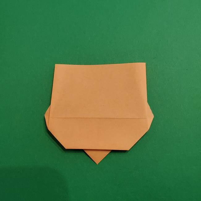 鬼滅の刃 折り紙のはなこの折り方作り方1(9)