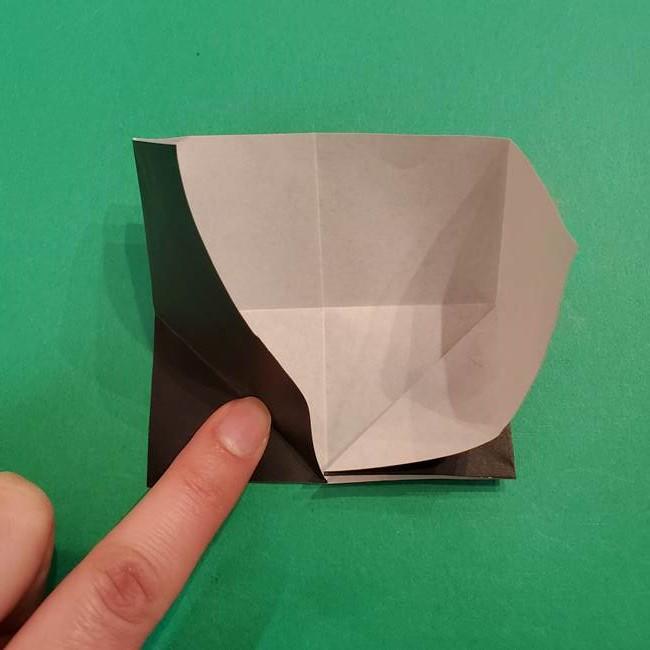 鬼滅の刃 折り紙のはなこの折り方作り方2(12)