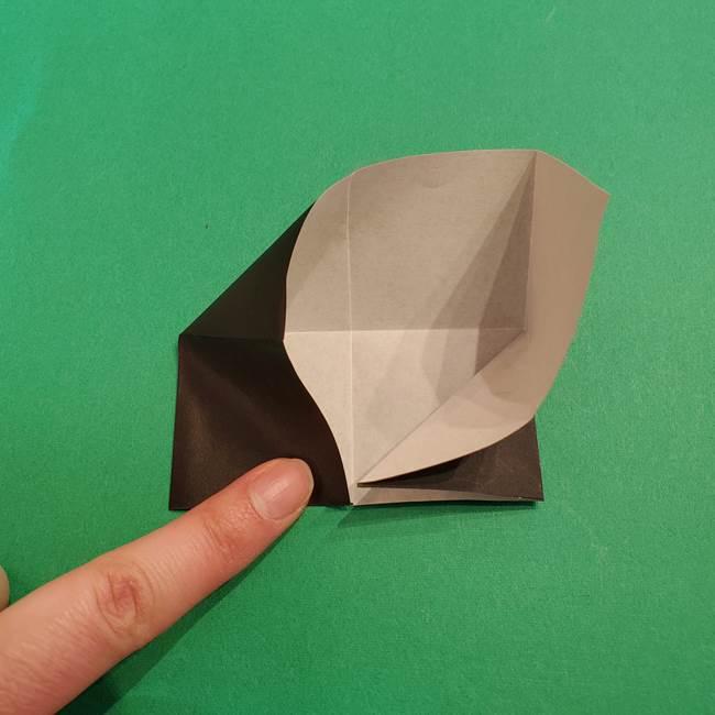 鬼滅の刃 折り紙のはなこの折り方作り方2(14)