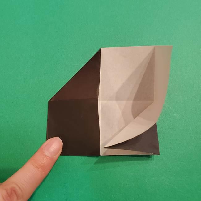 鬼滅の刃 折り紙のはなこの折り方作り方2(15)