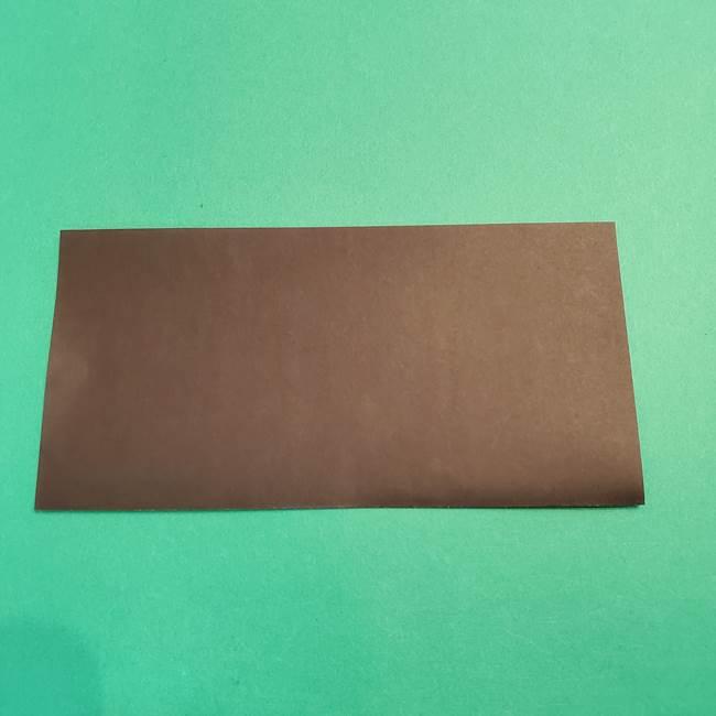 鬼滅の刃 折り紙のはなこの折り方作り方2(2)