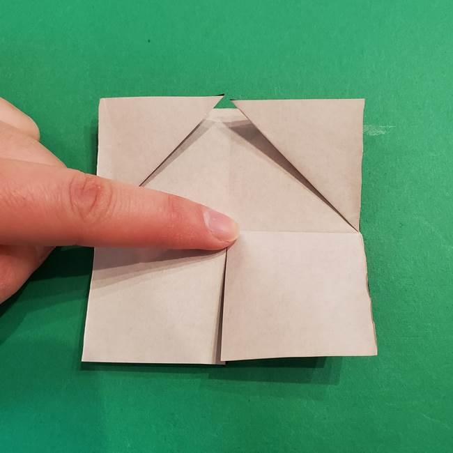 鬼滅の刃 折り紙のはなこの折り方作り方2(20)