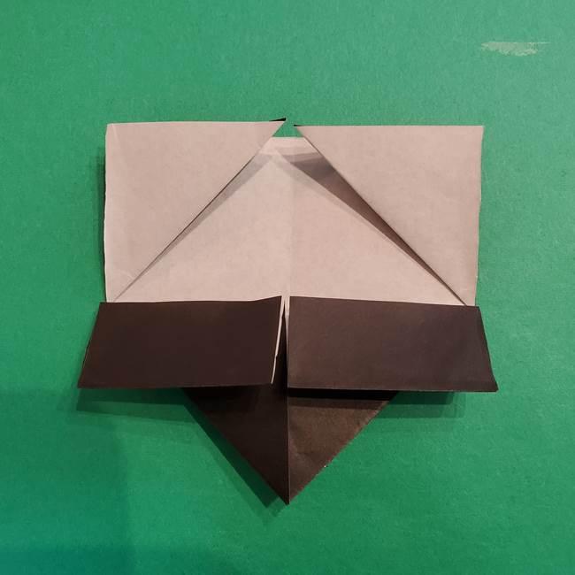 鬼滅の刃 折り紙のはなこの折り方作り方2(21)