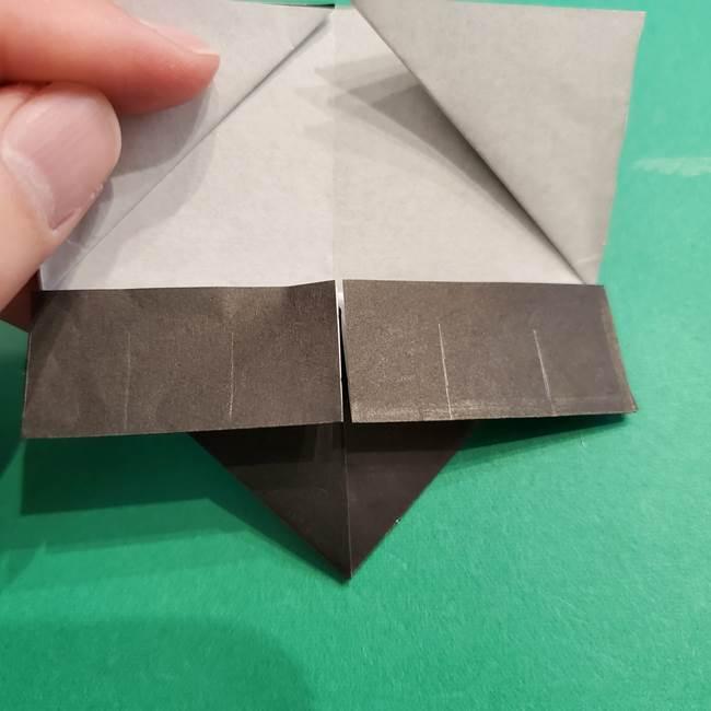 鬼滅の刃 折り紙のはなこの折り方作り方2(22)
