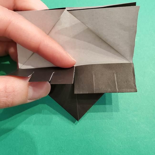 鬼滅の刃 折り紙のはなこの折り方作り方2(23)