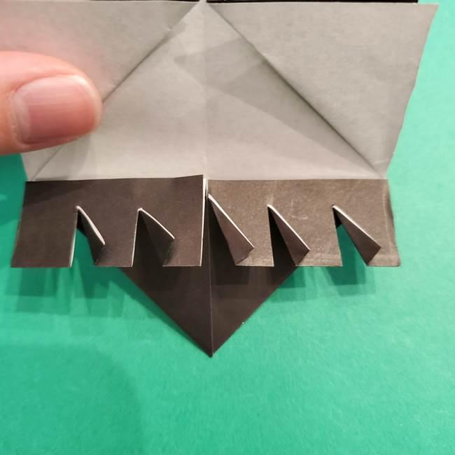 鬼滅の刃 折り紙のはなこの折り方作り方2(24)