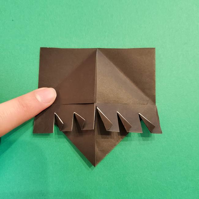 鬼滅の刃 折り紙のはなこの折り方作り方2(25)